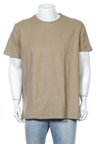 Мъжка тениска Burton of London, Размер XL, Цвят Зелен, Памук, Цена 19,50лв.