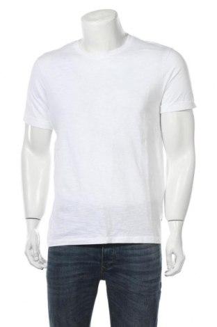 Мъжка тениска Burton of London, Размер M, Цвят Бял, Памук, Цена 21,00лв.