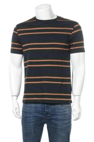 Мъжка тениска Burton of London, Размер M, Цвят Многоцветен, Памук, Цена 27,00лв.