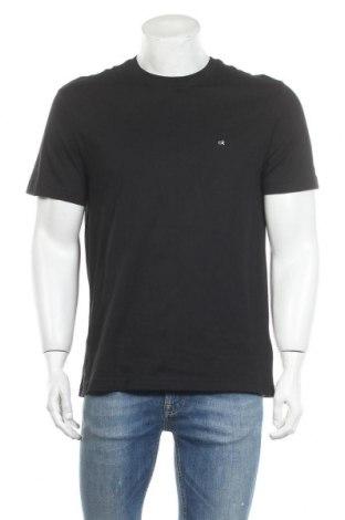 Ανδρικό t-shirt Calvin Klein, Μέγεθος L, Χρώμα Μαύρο, Βαμβάκι, Τιμή 24,74€