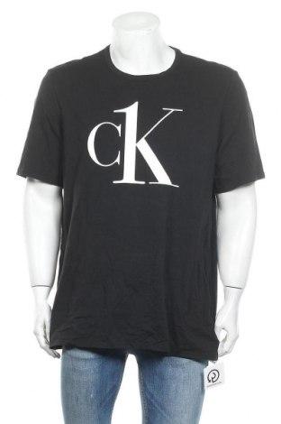 Мъжка тениска Calvin Klein Jeans, Размер XL, Цвят Черен, 95% памук, 5% еластан, Цена 81,75лв.