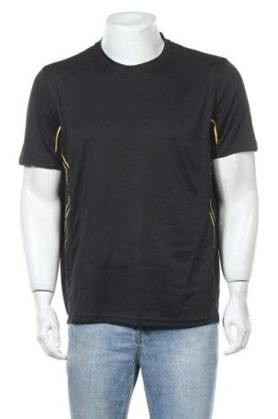 Мъжка тениска Crivit, Размер XL, Цвят Черен, Цена 17,01лв.