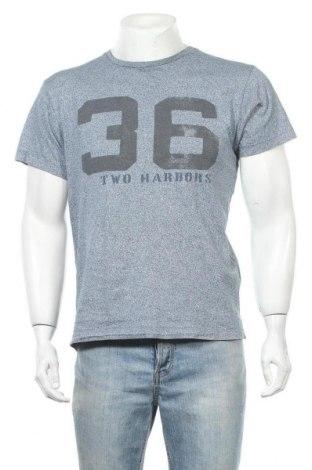 Мъжка тениска H&M L.O.G.G., Размер M, Цвят Син, 100% памук, Цена 14,96лв.