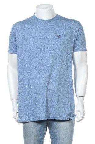 Мъжка тениска Hurley, Размер L, Цвят Син, 85% полиестер, 15% памук, Цена 16,38лв.