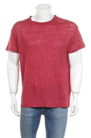 Мъжка тениска Iro, Размер S, Цвят Червен, Лен, Цена 94,17лв.