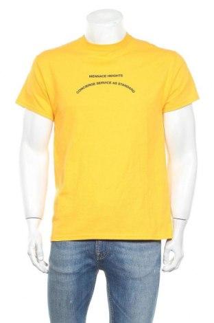 Ανδρικό t-shirt Mennace, Μέγεθος S, Χρώμα Κίτρινο, Βαμβάκι, Τιμή 5,43€