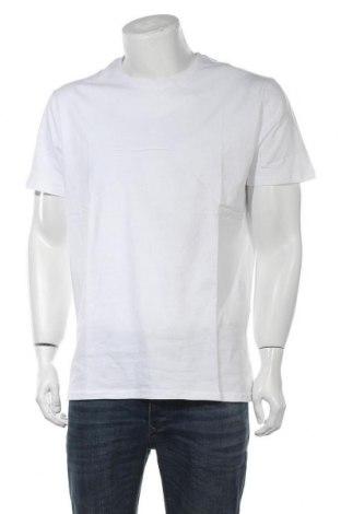 Мъжка тениска Pier One, Размер XXL, Цвят Бял, Памук, Цена 13,26лв.