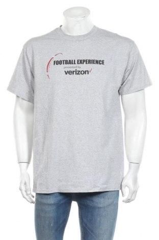 Ανδρικό t-shirt Port & Company, Μέγεθος L, Χρώμα Γκρί, 90% βαμβάκι, 10% πολυεστέρας, Τιμή 6,43€