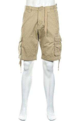 Ανδρικό κοντό παντελόνι MATCHSTICK, Μέγεθος S, Χρώμα  Μπέζ, Βαμβάκι, Τιμή 12,06€