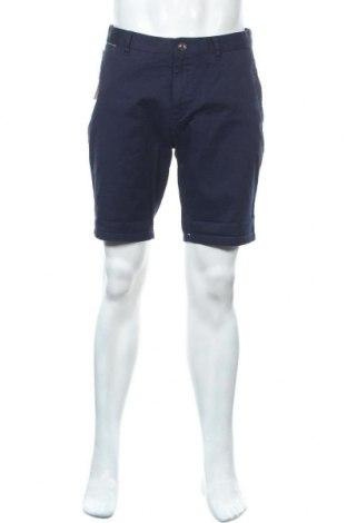 Мъжки къс панталон Scotch & Soda, Размер M, Цвят Син, 98% памук, 2% еластан, Цена 89,25лв.