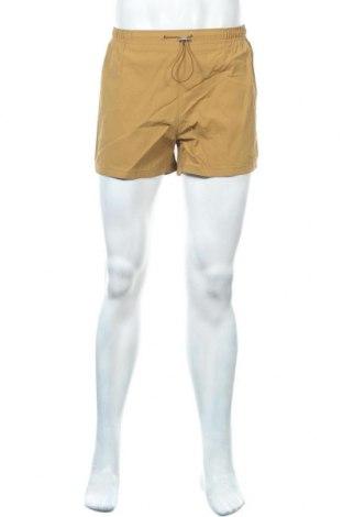Мъжки къс панталон Weekday, Размер S, Цвят Кафяв, Полиестер, Цена 10,50лв.