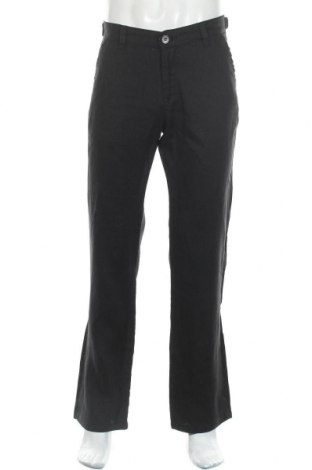 Мъжки панталон Bogner, Размер L, Цвят Черен, Лен, Цена 80,24лв.