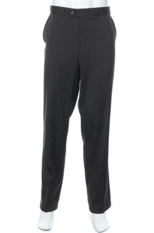 Мъжки панталон Canda, Размер L, Цвят Черен, 97% полиестер, 3% еластан, Цена 6,83лв.