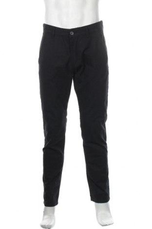 Мъжки панталон Esprit, Размер M, Цвят Син, 44% памук, 34% полиестер, 19% вискоза, 3% еластан, Цена 15,79лв.
