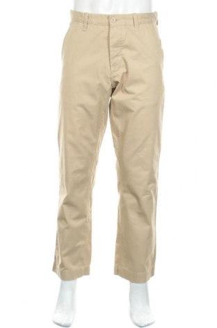 Ανδρικό παντελόνι H&M L.O.G.G., Μέγεθος M, Χρώμα  Μπέζ, Βαμβάκι, Τιμή 1,59€