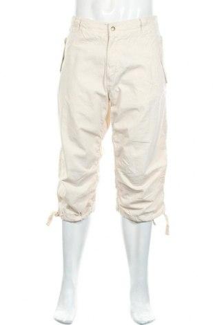 Мъжки панталон H&M L.O.G.G., Размер L, Цвят Бежов, Памук, Цена 22,05лв.