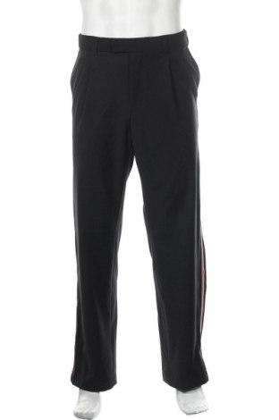 Ανδρικό παντελόνι J.Lindeberg, Μέγεθος L, Χρώμα Μαύρο, 53% πολυεστέρας, 43% μαλλί, 4% ελαστάνη, Τιμή 35,06€