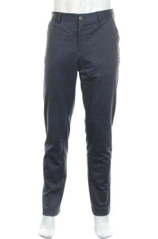 Ανδρικό παντελόνι Selected Homme, Μέγεθος L, Χρώμα Μπλέ, 87% πολυεστέρας, 10% βισκόζη, 3% ελαστάνη, Τιμή 19,95€