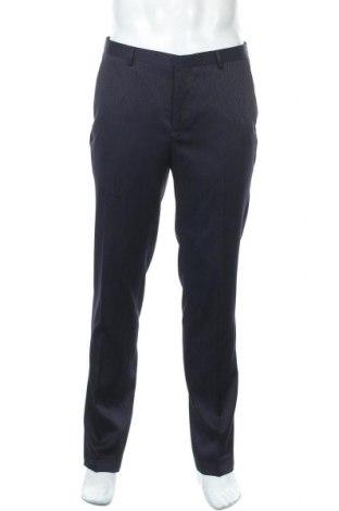 Pantaloni de bărbați Shelby & Sons, Mărime L, Culoare Albastru, 100% poliester, Preț 58,62 Lei