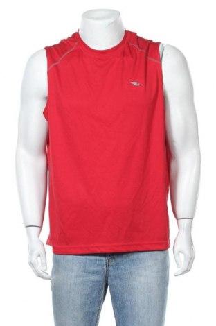 Ανδρική αμάνικη μπλούζα Athletic Works, Μέγεθος L, Χρώμα Κόκκινο, Πολυεστέρας, Τιμή 8,83€