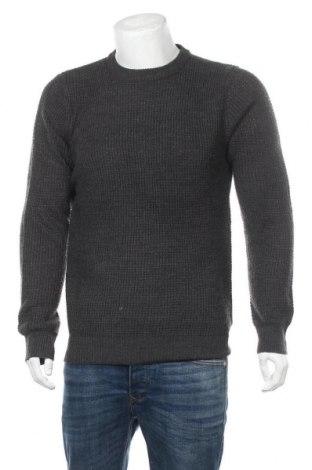 Мъжки пуловер Brave Soul, Размер L, Цвят Сив, Акрил, Цена 56,00лв.