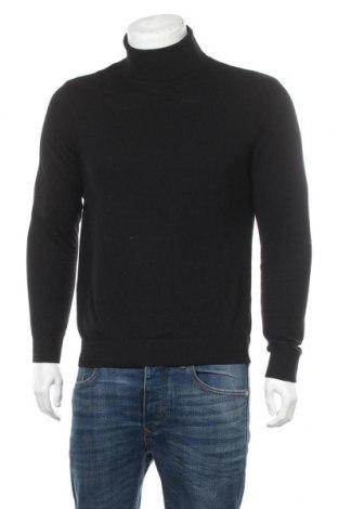 Ανδρικό πουλόβερ Jack & Jones, Μέγεθος L, Χρώμα Μαύρο, 60% βαμβάκι, 20% πολυαμίδη, 20% βισκόζη, Τιμή 11,55€