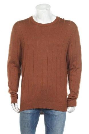 Мъжки пуловер Kiomi, Размер XL, Цвят Кафяв, 83% вискоза, 17% полиамид, Цена 21,60лв.