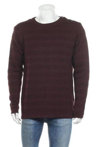 Ανδρικό πουλόβερ Kronstadt, Μέγεθος XXL, Χρώμα Κόκκινο, 50% βαμβάκι, 50%ακρυλικό, Τιμή 13,20€