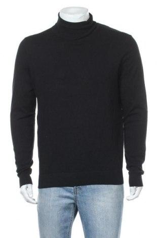 Ανδρικό πουλόβερ Pier One, Μέγεθος L, Χρώμα Μαύρο, 80% βαμβάκι, 20% πολυαμίδη, Τιμή 11,56€