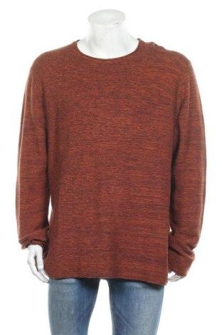 Ανδρικό πουλόβερ URBN SAINT, Μέγεθος 3XL, Χρώμα Πορτοκαλί, Βαμβάκι, Τιμή 11,55€