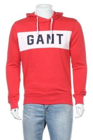 Ανδρικό φούτερ Gant, Μέγεθος M, Χρώμα Κόκκινο, 87% βαμβάκι, 13% πολυεστέρας, Τιμή 27,79€