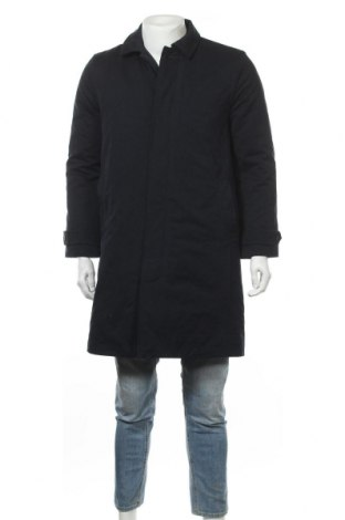 Ανδρικά παλτό Gap, Μέγεθος S, Χρώμα Μπλέ, 52% βαμβάκι, 48% πολυεστέρας, Τιμή 37,02€