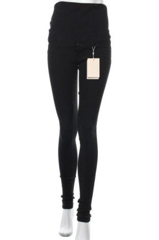 Панталон за бременни Mamalicious, Размер M, Цвят Черен, 80% вискоза, 17% полиамид, 3% еластан, Цена 36,57лв.