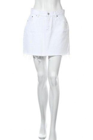 Φούστα Dr. Denim, Μέγεθος M, Χρώμα Λευκό, Βαμβάκι, Τιμή 9,43€