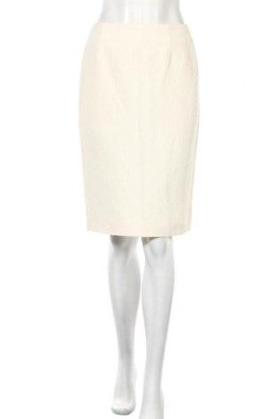 Пола Escada, Размер S, Цвят Екрю, 50% коприна, 50% лен, Цена 92,48лв.