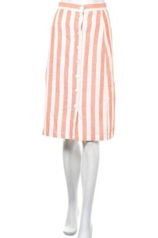 Пола Glamorous, Размер S, Цвят Оранжев, 18% лен, 40% памук, 42% вискоза, Цена 46,50лв.