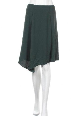 Пола H&M, Размер XS, Цвят Зелен, Полиестер, Цена 17,96лв.