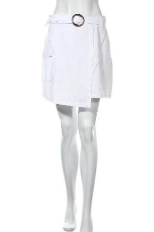 Пола Na-Kd, Размер M, Цвят Бял, 89% памук, 11% лен, Цена 44,25лв.