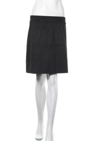 Φούστα Pieces, Μέγεθος S, Χρώμα Μαύρο, 95% πολυεστέρας, 5% ελαστάνη, Τιμή 9,80€