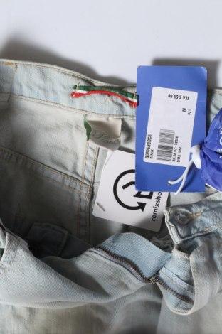 Пола Please, Размер M, Цвят Син, 98% памук, 2% еластан, Цена 15,48лв.