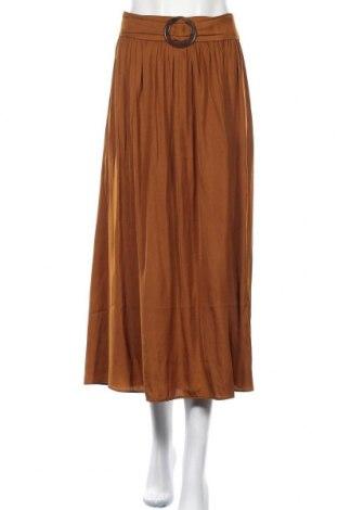 Φούστα Soya Concept, Μέγεθος XL, Χρώμα Καφέ, Πολυεστέρας, Τιμή 19,56€