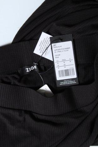 Пола Zign, Размер M, Цвят Черен, 94% вискоза, 6% еластан, Цена 21,70лв.