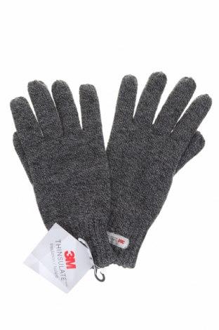 Γάντια, Χρώμα Γκρί, Πολυακρυλικό, Τιμή 6,60€