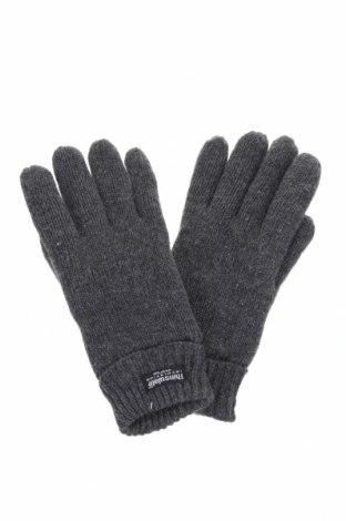 Γάντια, Χρώμα Γκρί, Μαλλί, Τιμή 7,44€