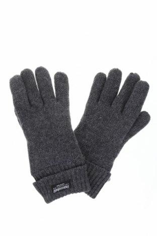 Γάντια Eem, Χρώμα Γκρί, Μαλλί, Τιμή 12,02€