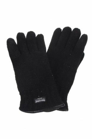 Γάντια Eem, Χρώμα Μαύρο, Μαλλί, Τιμή 9,07€