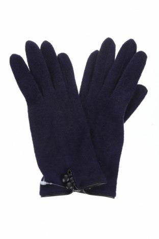Γάντια Eem, Χρώμα Μπλέ, 60% μοντάλ, 40%ακρυλικό, Τιμή 7,44€