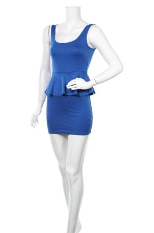 Φόρεμα Ambiance Apparel, Μέγεθος S, Χρώμα Μπλέ, 76% πολυεστέρας, 19% βισκόζη, 5% ελαστάνη, Τιμή 11,82€
