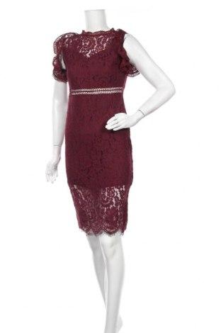 Φόρεμα Ax Paris, Μέγεθος M, Χρώμα Κόκκινο, Πολυεστέρας, Τιμή 13,57€