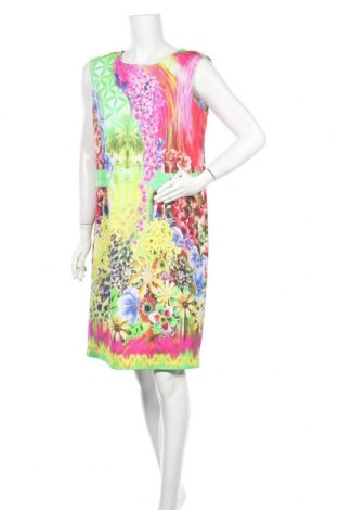 Рокля Betty Barclay, Размер L, Цвят Многоцветен, 83% памук, 14% полиамид, 3% еластан, Цена 46,80лв.
